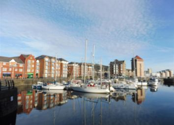 Thumbnail 2 bed property to rent in Cork House, Maritime Quarter, Swansea