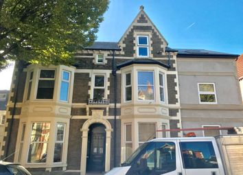 Thumbnail 1 bed property to rent in Connaught Road, Roath, Cardiff