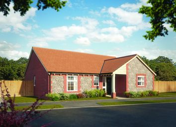 Thumbnail 3 bed detached bungalow for sale in Hempstead Road, Holt