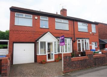 Thumbnail 4 bed semi-detached house for sale in Woodhall Road, South Reddish