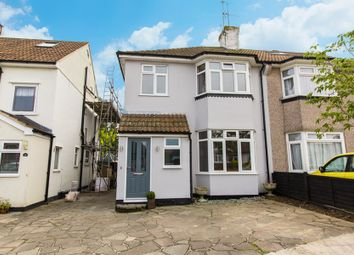 Thumbnail 3 bed semi-detached house for sale in Lympstone Close, Westcliff-On-Sea