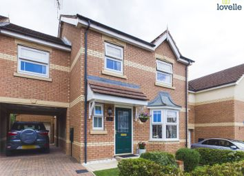Thumbnail 4 bed link-detached house for sale in The Furlongs, Market Rasen