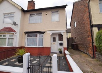 Thumbnail 3 bed semi-detached house for sale in Dundee Grove, Wallasey
