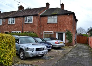 Thumbnail 2 bed end terrace house for sale in Fairfield Avenue, Sandbach