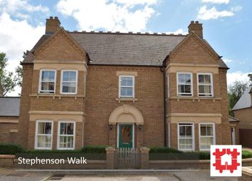 Thumbnail 4 bedroom detached house for sale in Stephenson Walk, Stotfold, Herts