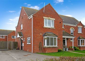 Thumbnail 2 bed semi-detached house for sale in Hornbeam Close, Ruskington, Sleaford, Lincolnshire