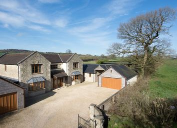Thumbnail 6 bed detached house for sale in Little London, Oakhill, Somerset