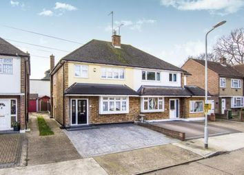 Thumbnail 3 bedroom semi-detached house for sale in Oxley Close, Gidea Park, Romford