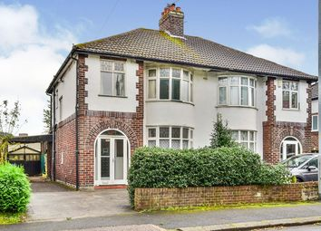 Thumbnail 3 bed semi-detached house for sale in Wendover Road, Manchester, Greater Manchester