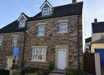Thumbnail 4 bed end terrace house for sale in Bluebell Way, Launceston