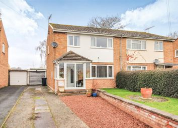 Thumbnail 3 bed semi-detached house for sale in Far Meadow Road, Leominster