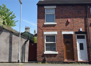 Thumbnail 2 bed end terrace house for sale in John Street, Newcastle, Staffordshire