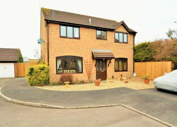 Thumbnail 4 bedroom detached house for sale in Burgess Close, Stratton, Wiltshire.