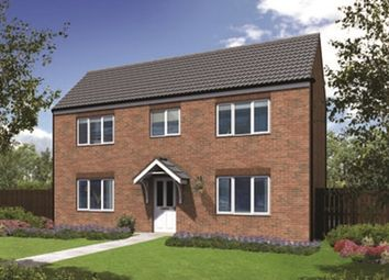 "Thumbnail 4 bed detached house for sale in ""The Waddesdon"" at Highclere Drive, Sunderland"