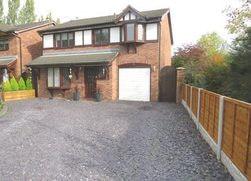 Thumbnail 4 bed detached house for sale in Hawthorn Close, Winsford