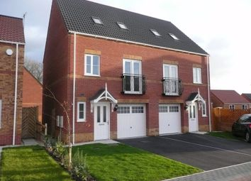 Thumbnail 3 bed semi-detached house to rent in Pearwood Close, Goldthorpe, Rotherham, South Yorkshire