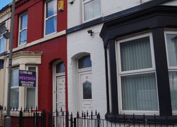 Thumbnail 4 bed terraced house for sale in Wedgewood Street, Kensington, Liverpool