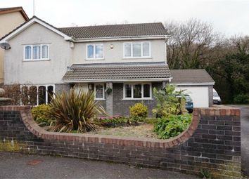Thumbnail 4 bed detached house for sale in Swn Yr Afon, Kenfig Hill, Bridgend