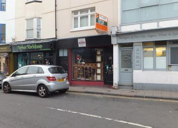 Thumbnail Retail premises to let in 19 St Georges Road, Brighton