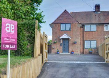 Thumbnail 4 bed semi-detached house for sale in Church End, Bledlow, Princes Risborough