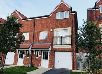 Thumbnail 4 bedroom town house for sale in Carradale, Sunderland, Tyne And Wear