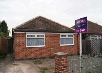 Thumbnail 2 bed detached bungalow for sale in Colby Drive, Leicester