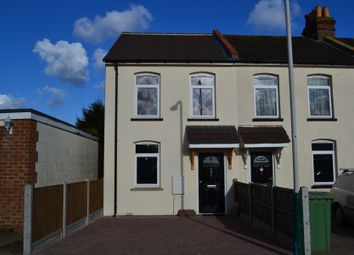 Thumbnail 2 bedroom end terrace house to rent in Bates Road, Harold Wood, Romford