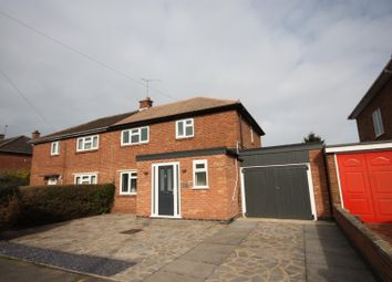 Thumbnail 3 bed semi-detached house for sale in Lambourne Road, Birstall, Leicester