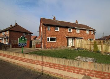 Thumbnail 3 bed semi-detached house for sale in Milton Road, Carcroft, Doncaster, South Yorkshire