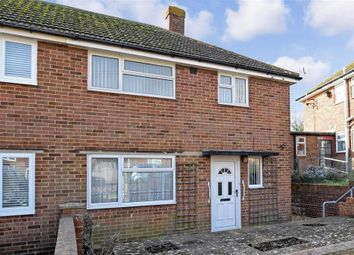 Thumbnail 2 bed semi-detached house for sale in Northdown Close, Newhaven, East Sussex