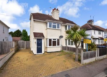 Thumbnail 2 bed semi-detached house for sale in Roselea Avenue, Herne Bay, Kent