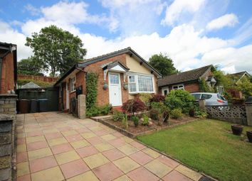 Thumbnail 2 bed detached bungalow for sale in Hazel Grove, Leek, Staffordshire