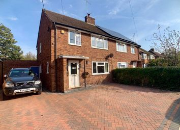 Thumbnail 3 bed semi-detached house for sale in Clapton Approach, Wooburn Green, High Wycombe