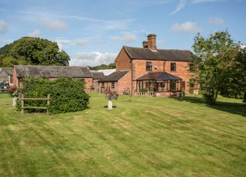 Thumbnail 4 bed detached house for sale in Fairoak, Eccleshall, Staffordshire