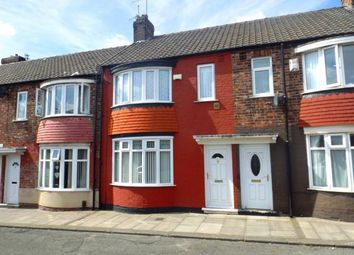 Thumbnail 3 bedroom terraced house for sale in Warton Street, Middlesbrough