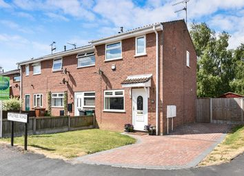 Thumbnail 2 bed end terrace house for sale in Appletree Road, Hatton, Derby