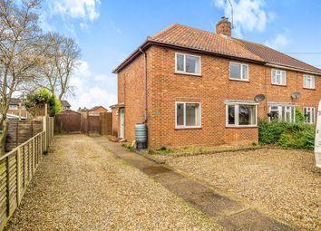 Thumbnail 3 bedroom semi-detached house for sale in Norwich Road, Aylsham, Norwich