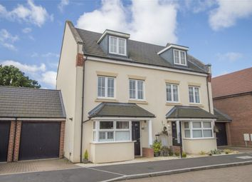 Thumbnail 4 bed semi-detached house for sale in Damson Drive, Hartley Wintney, Hook