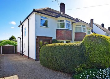 Thumbnail 3 bed semi-detached house for sale in Sutton Road, Maidstone, Kent