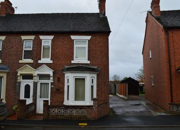 Thumbnail 2 bed semi-detached house to rent in Victoria Road, Market Drayton