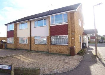 Thumbnail 2 bed flat to rent in Endlebury Road, Chingford, London