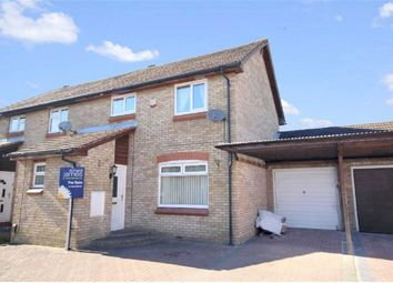 Thumbnail 3 bedroom semi-detached house to rent in Downland Road, Swindon, Wiltshire