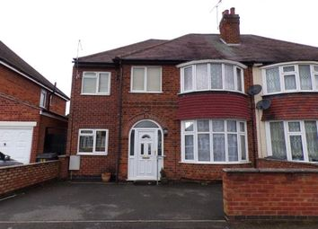 Thumbnail 4 bed semi-detached house for sale in Parkstone Road, Leicester, Leicestershire, England