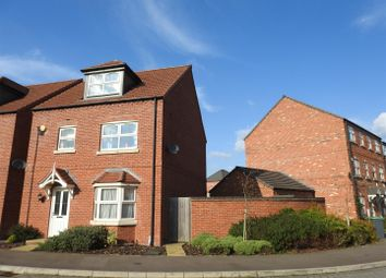 Thumbnail 4 bedroom detached house for sale in Bakewell Lane, Hucknall, Nottingham