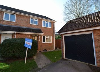 Thumbnail 3 bedroom semi-detached house for sale in Nether Vell-Mead, Church Crookham, Fleet