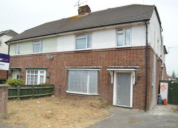 Thumbnail 4 bed semi-detached house for sale in West Howe, Bournemouth, Dorset