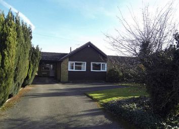 Thumbnail 3 bed detached bungalow to rent in Gorse Lane, Oadby, Leicester
