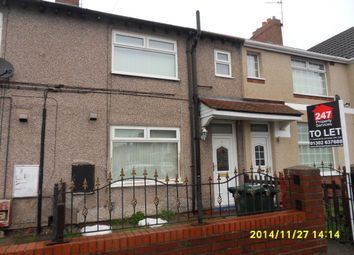 Thumbnail 3 bed terraced house to rent in Alexander Street, Bentley, Doncaster