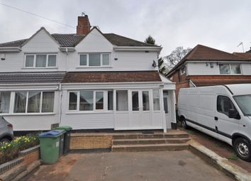 Thumbnail 3 bed semi-detached house to rent in Warwick Road, Oldbury