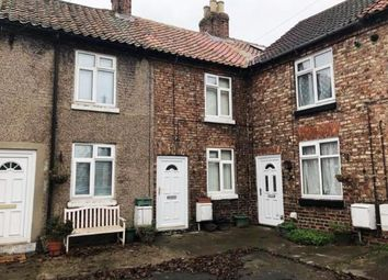 Thumbnail 1 bed terraced house for sale in Church View, Brompton, Northallerton, North Yorkshire